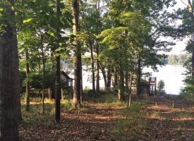 Lake Lot on Jackson Lake Great views deep water 2 old houses on the property