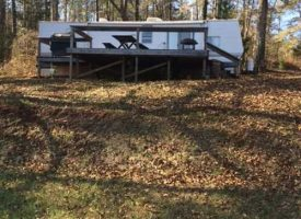 Total recreation package inc. setup camper on lake in Talbot Co., GA