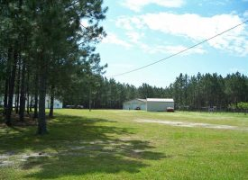 Mobile home, barns, timber, hay, and great hunting in Dooly County